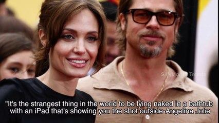 Sex Scene With Brad Pitt Is Strangest Thing: Angelina Jolie
