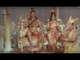 Lord Vinayaka Wins With Lord Karthikeya  - Sri Vinayaka Vijayam Movie Scenes