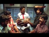 Venu Madhav, Ravi Teja, Brahmanandam, AVS Ultimate Comedy In Train - Venky Movie Scenes