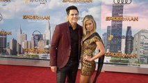 """Tom Sandoval and Ariana Madix """"Spider-Man Homecoming"""" World Premiere Red Carpet"""