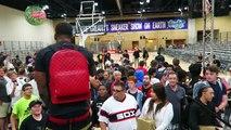 My Daughter Camari Suprised me at Sneakercon Chicago!
