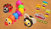 3 Minute Crafts / DIY Play Doh insects / How to make Play dough crafts for kids step by step
