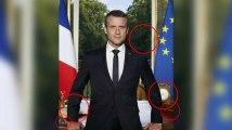 Portrait officiel de Macron: ces détails qu'il a voulu que vous voyiez