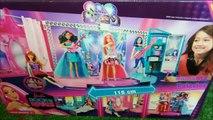 Examen étape transformation Escenario de barbie rockn royals barbie rock`n royals playset