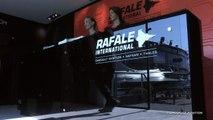 Le simulateur Rafale au statique militaire - Bourget 2017 - Dassault Aviation