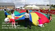 Journée sportive destinée aux élèves des écoles libres de Mouscron