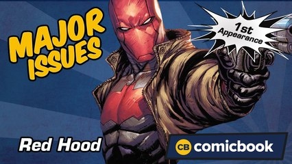 Red Hood's First Appearance - Major Issues