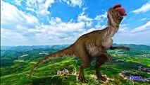 Dessin animé enfants dinosaure dinosaures pour enfants Apprendre apprentissage des noms des sons  