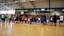 Basket en famille à l'Ecole du Limoges ABC en Limousin version danse