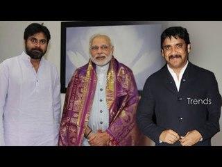 Nagarjuna Meets Narendra Modi - Amala Akkineni