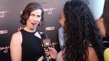 """Miriam Shor Interview """"Younger"""" Season Four NYC Premiere Party"""