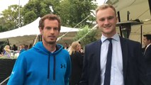 Andy Murray Meets... Andy Murray, as Impressionist Nails Voice of the Tennis Star