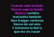 Victor Garcia - Mi Funeral (Karaoke)