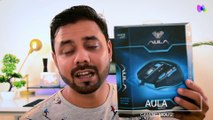 GAMING MOUSE AULA KILLING THE SOUL HINDI REVIEW / INDIA Budget Gaming Mouse   UNBOXING I REVIEW