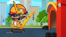 Formation Of Crane   Uses Of Crane   Crane Car Wash   Crane Wash Game for Kids - Baby Time