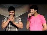 Manoj Removes Nikhil's Shirt || Karthikeya Audio Launch - Nikhil Siddarth, Swathi