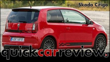 Skoda Citigo Monte Carlo - Review & Test Drive 2017 | Driving Report | 1.0 MPI 75 hp