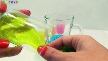 Bébé bulle argile les couleurs compte bricolage poupée galaxie briller Comment Apprendre faire faire nombres vase à Il