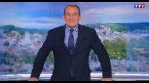 Emmanuel Macron : Jean-Pierre Pernaut parodie sa photo officielle en plein JT de 13h