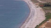Van Van Gölü'nün Mavi Bayraklı Plajı Çöpe Döndü