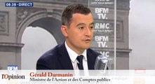 Gérald Darmanin: «Notre gouvernement précédent a arrangé la vérité»