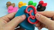 Y Conde creativa patos para divertido Niños Aprender números jugar para con 1 9 doh