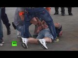 Euro 2016: Tear gas, water cannon & scuffles ahead of Poland-Ukraine match in Marseille