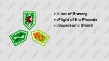 Bataille générales général chevaliers parfait pouvoirs boucliers costume contre Lance garg nexo combo lego nexo