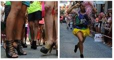 Course de talons hauts à Madrid pour la World Pride - Topito Voyage