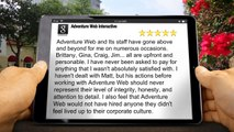 Adventure Web Interactive Baltimore,Outstanding Five Star Review