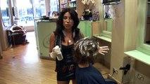 Houleuse pour cheveux la Coupe de cheveux coiffures Couches Couches vivre médium tutoriel Bob ✂ ✂ ✂