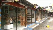 Correio Manhã  - Os comerciantes da Vila do Artesão, em Campina Grande, estão pra lá de animados