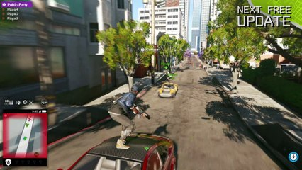 Watch Dogs 2 - Free July Update – 4 Player Party mode de Watch Dogs 2