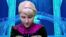 Coronación día de Elsa congelado peinado en en vivir hacer hasta Elsa real tutorial  