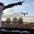 Un drone ne survit jamais longtemps en festival