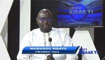 REPLAY - Xibar Yi 13h - invité : MAMADOU MBAYE - 30 Juin 2017