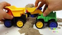 Ciment béton déverser cinétique chargeur table de mixage en jouant le sable spongieux jouets un camion roue 102