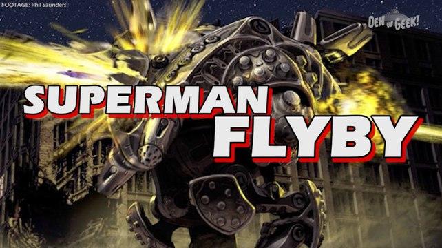 Forgotten Films - Superman Flyby