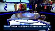 THE RUNDOWN | Former french politician Simone Veil dies at 89 | Friday, June 30th 2017