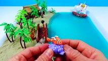 Plage Livre les couleurs pour enfants Apprendre des noms océan le sable Mer requin vase jouets eau Jungle animale