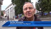 Hautes-Alpes : les migrants et membres d'association reçus par le préfet, Philippe Court