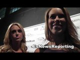 sports reporters talk to esnews at Ryan Nece Charity Event  EsNews Boxing