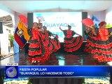 Gobernación del Guayas presentó la agenda de actividades que realizará Guayaquil por sus fiestas