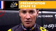 Présentation Étape 12 - Tour de France 2017