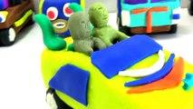 Enfant jouer Cabriolets Doh modélisation pâte à modeler jouets en argile oeuf jouet épluché capitaine fin des