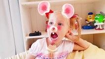 Алиса Меряет Маски / Челлендж УГАДАЙ КАКОЕ ЖИВОТНОЕ / Alice Color Masks Challenge WHAT ANI
