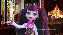 Et poupées Draculaura mal haute monstre partie séries jouets jumelle 2