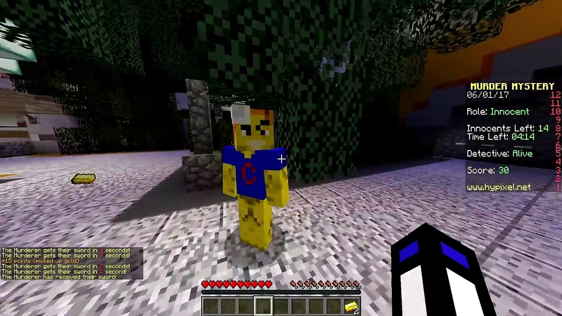 КАК ТУТ МОЖНО БЫЛО УВИДЕТЬ МЕЧ? ПРОСТО ЖЕСТЬ! (Minecraft Murder Mystery)