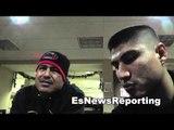 robert garcia and mikey garcia talk boxing EsNews Boxing