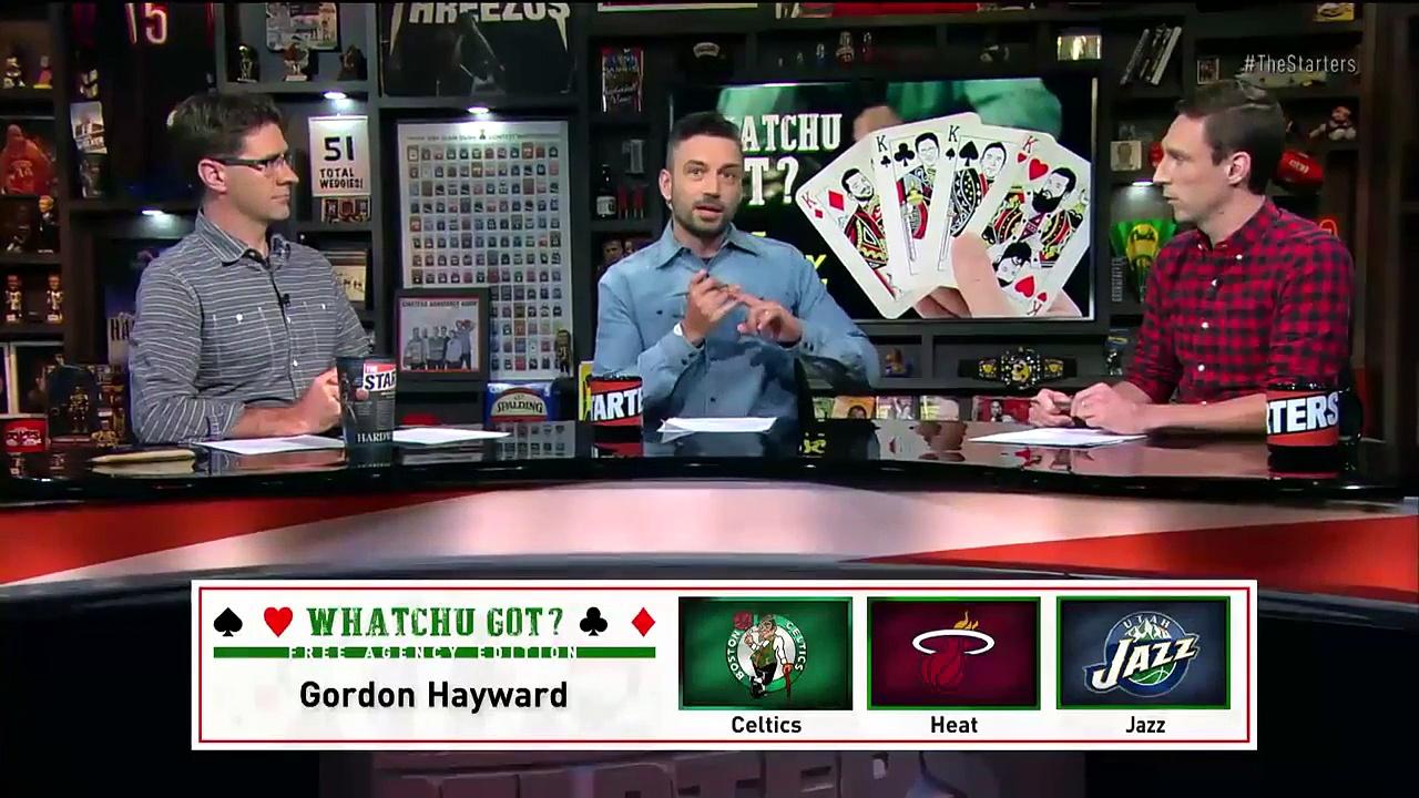 【NBA】The Starters Gordon Haywards Free Agency Prediction